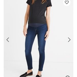 Madewell Over Belly Skinny Maternity Jeans